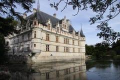 Azay-le-rideau foto de stock royalty free