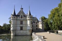 Azay-le-Rideau castelo Imagem de Stock Royalty Free