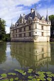 Azay le Rideau Castelo, France Foto de Stock Royalty Free
