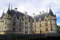 Azay le Rideau Castelo, France Imagens de Stock Royalty Free
