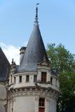 Azay-le-Rideau castelo no Loire Valley Imagem de Stock