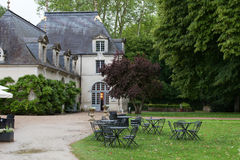 Azay-le-Rideau castelo no Loire Valley Fotografia de Stock Royalty Free
