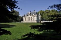 Azay-le-Rideau castle Stock Photos