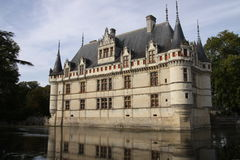 Azay-Le-Rideau Royalty Free Stock Photography