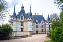Azay-le-Rideau castle, Loire Valley, France. Royalty Free Stock Photography