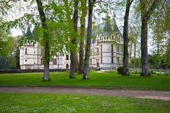 Azay-le-Rideau castle, Loire Valley, France. Royalty Free Stock Photos
