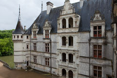 Azay-le-Rideau castle in the Loire Valley Royalty Free Stock Images