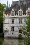 Azay-le-Rideau castle in the Loire Valley, Stock Photos