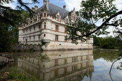 Azay-le-Rideau castle in the Loire Valley Stock Photo
