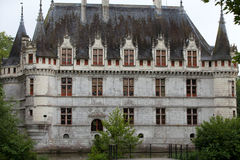 Azay-le-Rideau castle in the Loire Valley Royalty Free Stock Photography