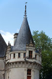 Azay-le-Rideau castle in the Loire Valley Stock Image
