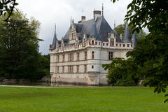 Azay-le-Rideau castle in the Loire Valley Stock Photos