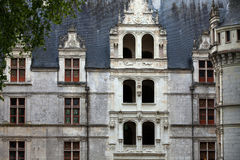 Azay-le-Rideau castle in the Loire Valley Royalty Free Stock Photos