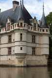 Azay-le-Rideau castle in the Loire Valley, Stock Photo