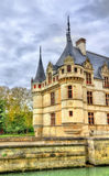 Azay-le-Rideau castle in Loire Valley, France. Stock Images