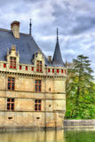 Azay-le-Rideau castle in Loire Valley, France. Stock Photo