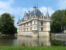 Azay le Rideau Chateau Royalty Free Stock Photography