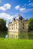 Azay-le-Rideau Chateau, France Royalty Free Stock Photos