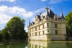 Azay-le-Rideau Chateau, France Stock Image
