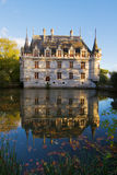 Azay-le-Rideau chateau, France Royalty Free Stock Photography