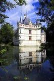 Azay le Rideau Chateau, Francia Foto de archivo