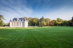 ` Azay-le-Rideau, Loire Valley, Frankrike för Chateau D Arkivfoton