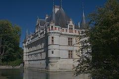 Azay le Rideau Um imagem de stock