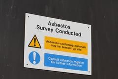 azbest Fotografia Stock