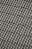 Azbest dachowa futrówka fotografia stock