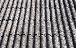 azbesta dach zdjęcia stock