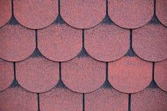 azbestowych tła mech stary deszczu dach Obrazy Royalty Free