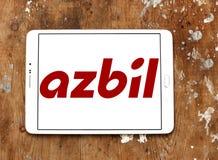 Azbil Korporation logo royaltyfria foton