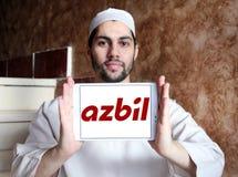 Azbil Korporation logo fotografering för bildbyråer