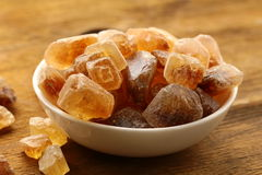 Azúcar del caramelo de roca Fotos de archivo