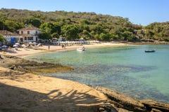 Azeda Beach. In Buzios, northern coast of Rio de Janeiro Royalty Free Stock Image