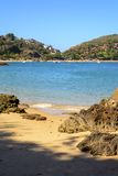 Azedinha Beach. In Buzios, northern coast of Rio de Janeiro Royalty Free Stock Photography