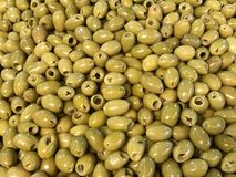 Azeitonas verdes imagens de stock royalty free