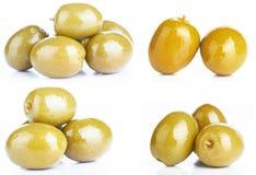 Azeitonas verdes Fotos de Stock Royalty Free