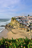 Azenhas毁损村庄,辛特拉,里斯本,葡萄牙 免版税图库摄影
