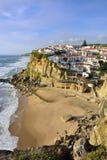 Azenhas毁损村庄,辛特拉,里斯本,葡萄牙 免版税库存照片