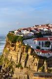 Azenhas毁损村庄,辛特拉,里斯本,葡萄牙 免版税库存图片