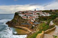 azenhas повреждают Португалию Стоковые Изображения RF