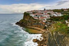 azenhas повреждают Португалию Стоковые Изображения