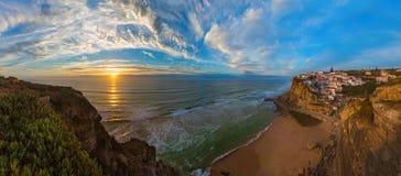Azenhas do Mar - Πορτογαλία στοκ εικόνες