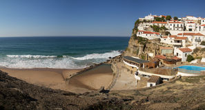 Azenhas do Mar Stock Afbeelding