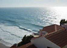 Azenhas do mar. Colares. Sintra. Portugal stock image