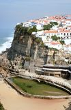Azenhas do Mar, Portugal Stock Afbeelding