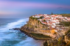 Azenhas Do Mar, Portugal Royalty Free Stock Images