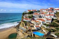 Azenhas do Mar, Portugal Stock Image