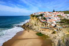 Azenhas do Mar, Portugal Stock Images